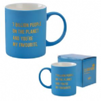 Cloud Nine - 7 billion people mug